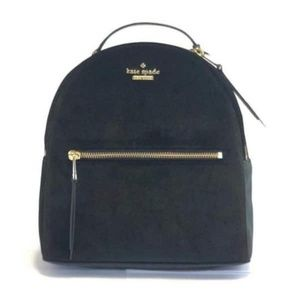 NWT kate spade velour / leather backpack 🎒